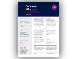 Connexus® Ethernet Solution Sheet