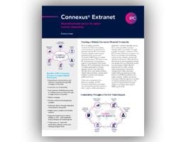 Connexus® Extranet Solution Sheet