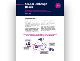 Global Exchange Reach Solution Sheet