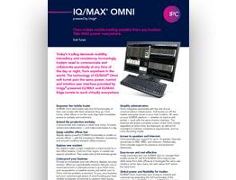 IQ/MAX Omni Sell Sheet