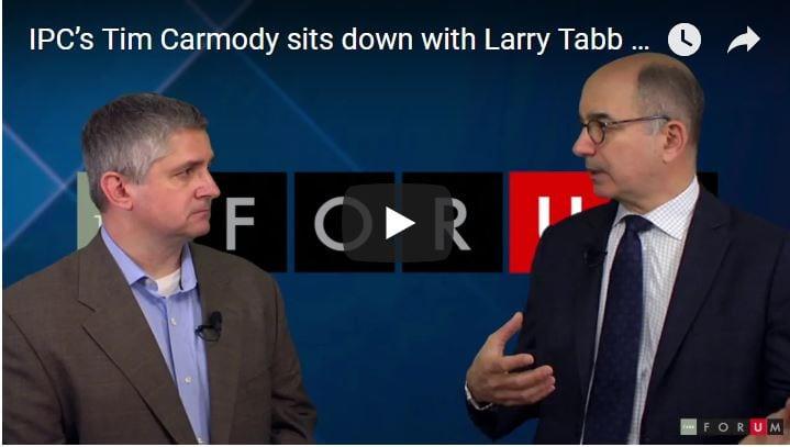 IPC's Tim Carmody sits down with Larry Tabb of TABB Group