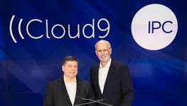 IPC CEO Bob Santella and Cloud9 CEO Gerald Starr Ring the Nasdaq Market Closing Bell