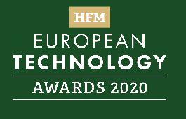 Best Infrastructure Provider – HFM European Technology Awards 2020