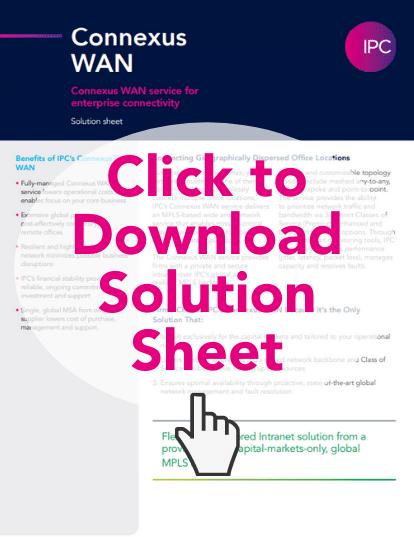 connexus WAN ipc solutions
